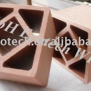 Wood plastic composite esgrima post