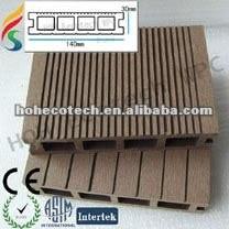 ( hohecotech ) eco - ambiente hueco wpc decking compuesto de suelo del piso