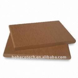 135*9mmの薄いモデルwpcのdeckingかフロアーリングの木製の床板の合成物のDecking