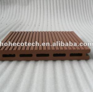 Decking de WPC/bois de construction composés en plastique en bois en bois wpc du plancher 140x17mm