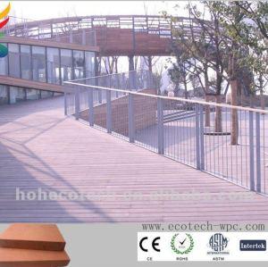 wood plastic composite construction materials