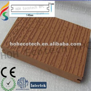 High impact resistance wpc composite floor decking