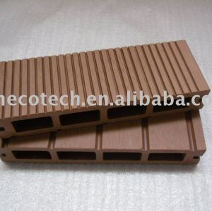 Panneau de plancher de Huasu WPC (ISO9001, ISO14001, ROHS, CE)