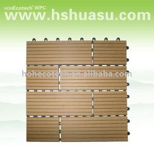 Eco - amichevole legno decking composito di plastica/pavimento di piastrelle