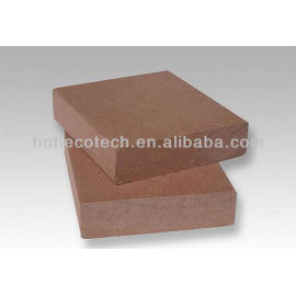 90*20mm Anhui Hohecotech superior quality solid WPC- decking floor SIZE