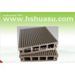 149*34mmの習慣長さWPCの床板の木製のプラスチック合成のDeckingの/flooringのタケフロアーリング