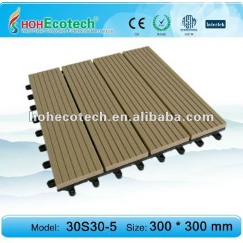 Outdoor wpc tile
