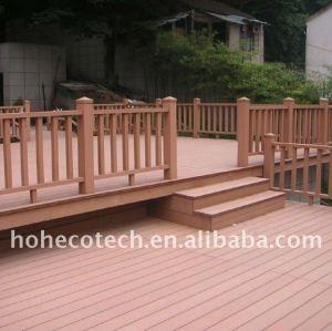 Famiglia decorazione! Wpc ( in legno composito di plastica ) decking/pavimenti pavimento esterno