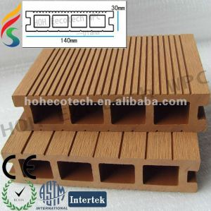 Wood Plastic Composite WPC pontoon decking /floating pontoon/wpc dock