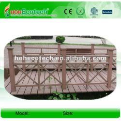木製のプラスチック合成のwpcの屋外の柵