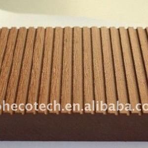Solid flooring WPC wood plastic composite decking/flooring decking