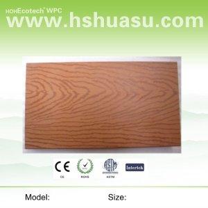 decking composé en plastique en bois