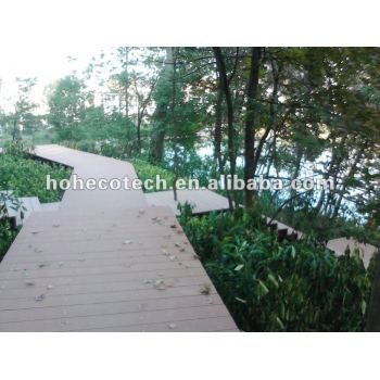 WPC Decks and Terrace Wood Plastic Composite Decking Boards
