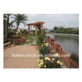 quality warranty !wood plastic composite wpc decking/flooring board for wpc bench