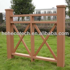 Guarda fazenda fene/cerca de madeira