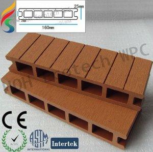 Plancher composé de Bois-Plastique