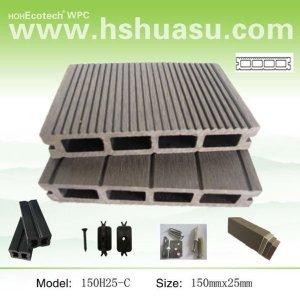 unprecedent legno composito di plastica wpc decking esterno