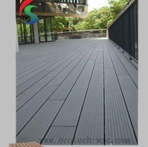 WPC Terrasse-Fußboden und Plattform