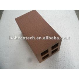 100% recycled wpc high quality outdoor fencing post (wpc flooring/wpc wall panel/wpc leisure products)