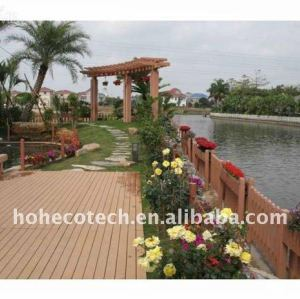 High Quality HDPE WPC Decking new ecofriendly material wpc wood plastic composite decking tiles vinyl decking