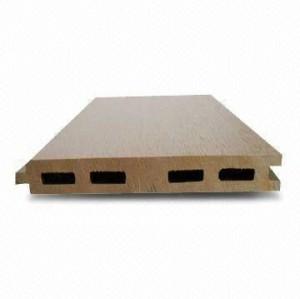 125x15mm d'intérieur/ménage/plancher extérieur sans decking composé en plastique en bois de composé de wpc d'accesorries d'installation