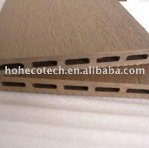 Decking composé en plastique en bois de sensation normale