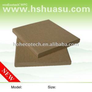 bois plastique composite populaire en plein air