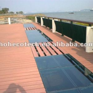 High quality outdoor garden wpc decking board