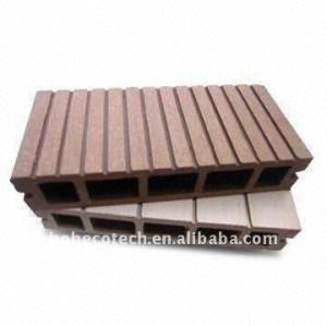 Melhor vender! Luz oco projeto wpc wood plastic composite decking/pisos composite decks de madeira
