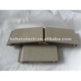 Waterproof outdoor Easy Installation wpc wall cladding 145S21 wood plastic composite wall panels