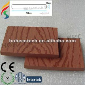 Natural wood feel WPC new fencing material /composite outdoor fence/garden yard edge fence/playground fence