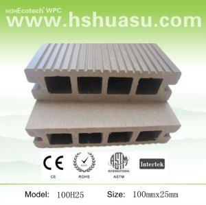 elegante aparência exterior pisos de madeira wpc materiais