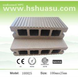 優雅な一見の屋外の木製のフロアーリングWPC材料