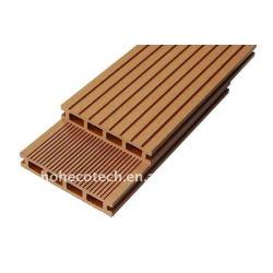 木製のdeckingのプラスチックデッキボードのwpcのdeckingの合成の木製のdecking