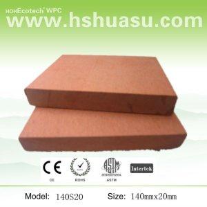 Imperméable à l'eau de bois plastique composite planchers de bois d'ingénierie