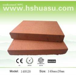 防水木製のプラスチック合成の設計された木製のフロアーリング