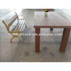 環境に優しくよい設計wpcの庭の机および椅子
