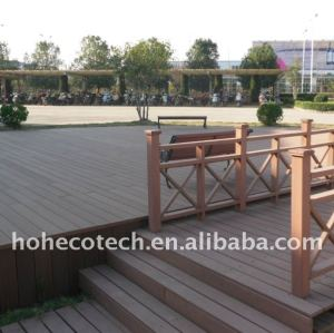 Company ground construction material WPC wood plastic composite decking/flooring decking composite