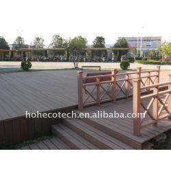 会社の地上の建築材WPCの木製のプラスチック合成のdeckingかフロアーリングのdeckingの合成物