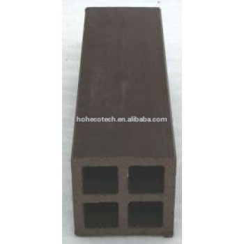 Best selling! Recycled water-proof wpc outdoor fence post (CE RoHS ISO9001 ISO14001)