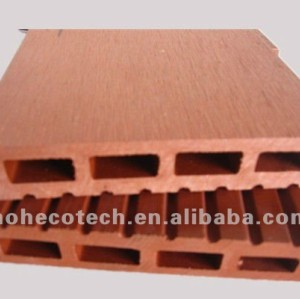 Solid wpc product for outdoor decking