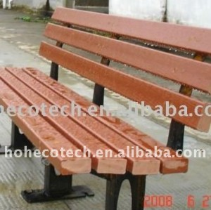 Outdoor Furniture Park /garden Bench composite bench wpc bench Public rest chairs wood bench