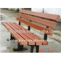 屋外の家具公園の/gardenのベンチの合成のベンチのwpcのベンチの公共の残りは木製のベンチの議長を務める