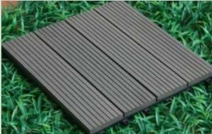 /de interior al aire libre 300x300mm suelo wpc decking azulejos madera decking compuesto plástico tablero de la cubierta