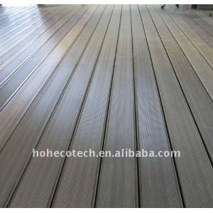 Solid&Hollow WPC Decking Floor WPC decking tiles wood plastic composite flooring