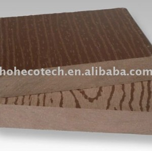 wpc wood plastic composite decking piso ao ar livre