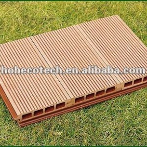 Promotion! Recycled water-proof decorative wpc composite decking (CE RoHS)