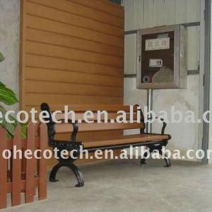 Design elegante! ~outdoor móveis parque/jardim bancada composta/wpc banco público cadeiras de descanso