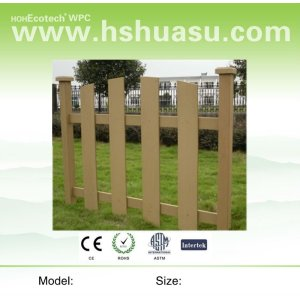 composite wpc fencing
