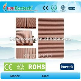 Cedar/copper brown/wood/sandalwood/coffee/grey/dark grey wpc hollow flooring